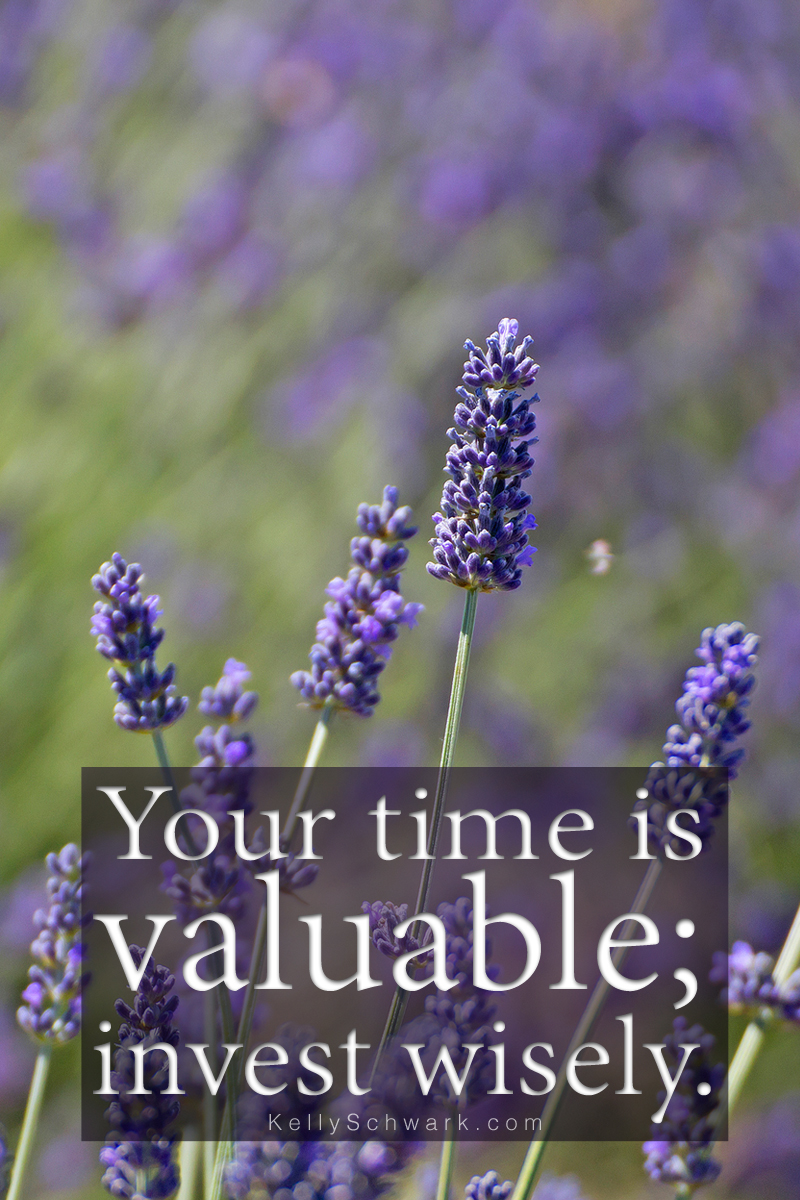 Time Valuable Lavendar SCHWARK